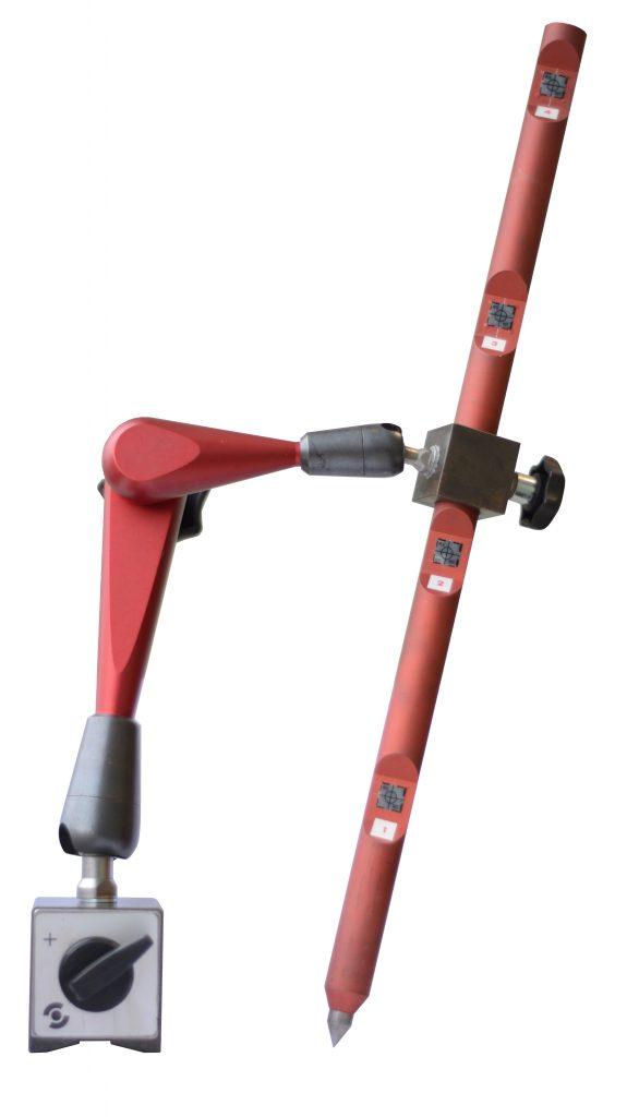 Base Holder for eccentric measurements