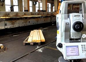 Dienstleistung Rahmenvermessung Güterwagen