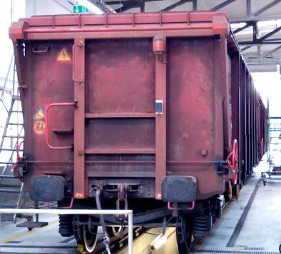 Rahmenvermessung von Güterwagen