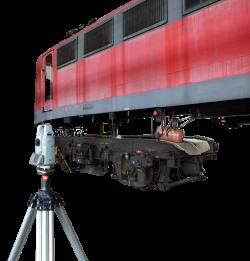 Rahmenvermessung von Lokomotiven
